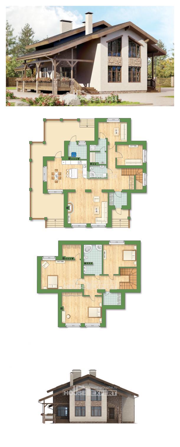 Projekt domu 240-003-L   House Expert