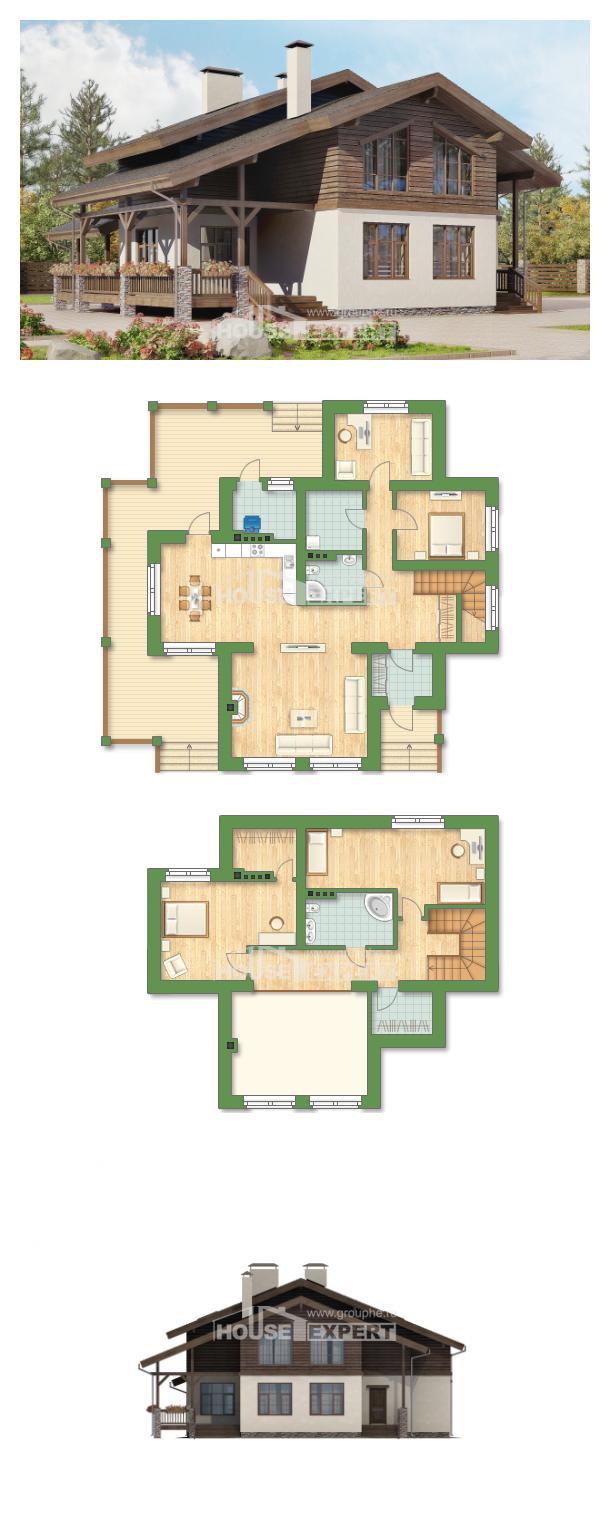 Projekt domu 210-006-L | House Expert
