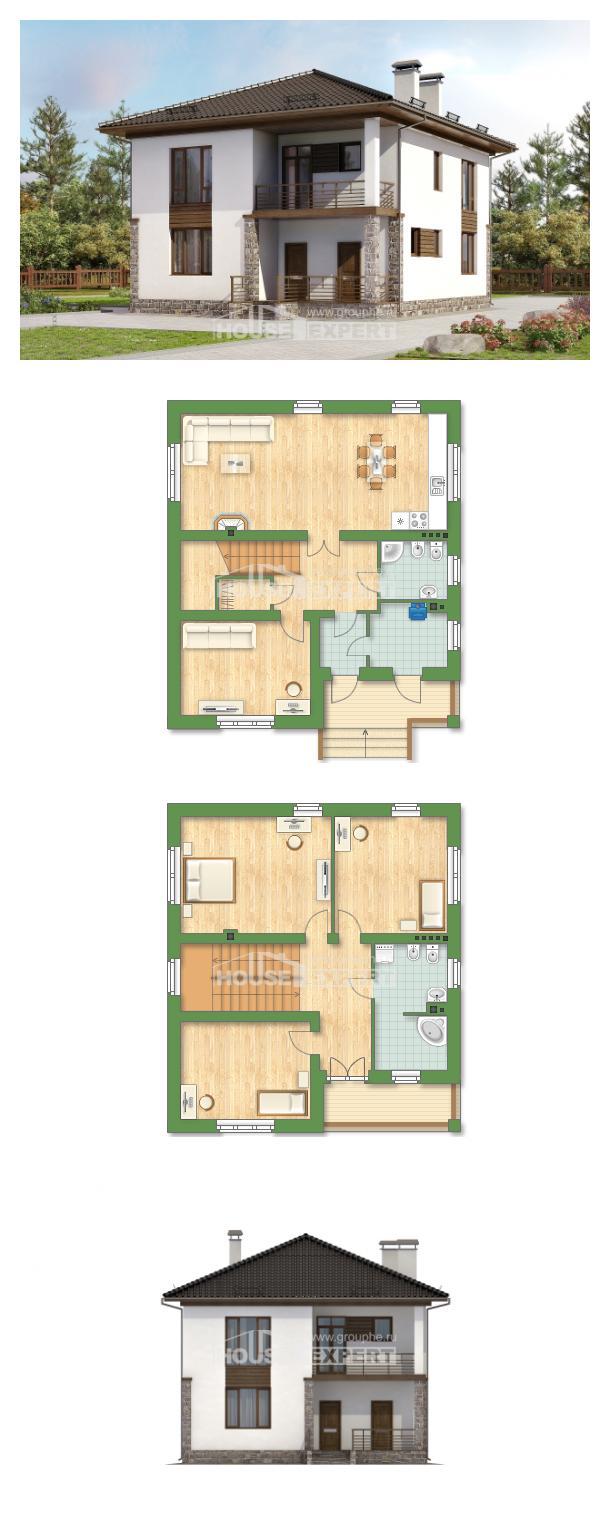 Проект на къща 170-005-R   House Expert