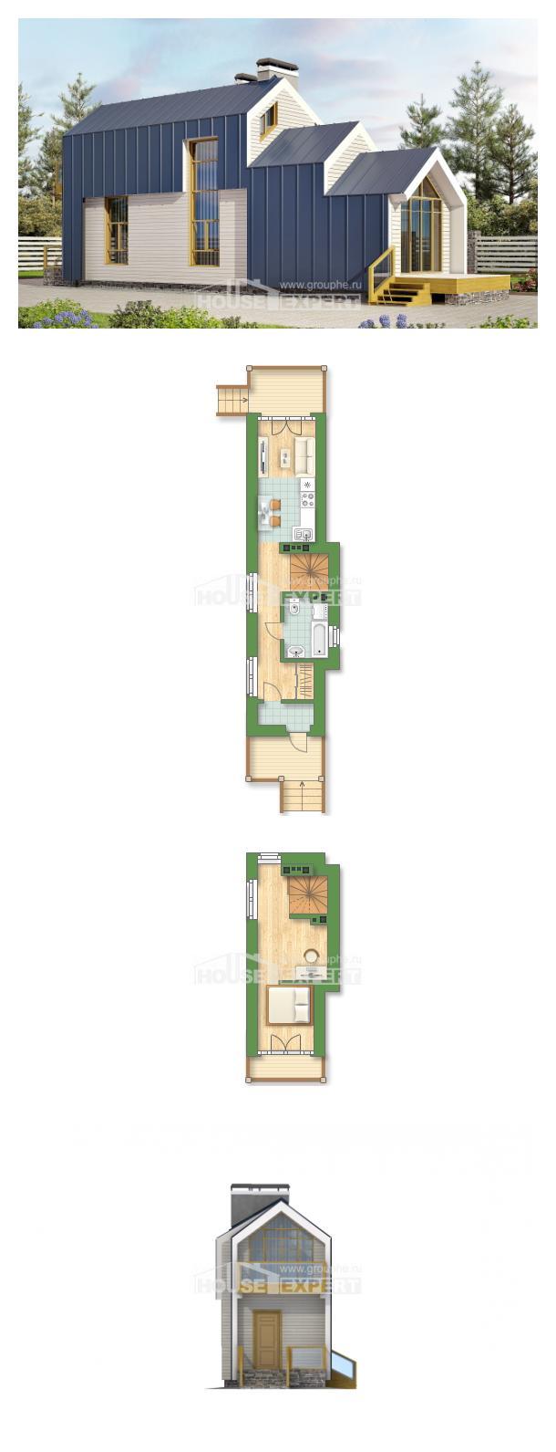 Проект дома 060-006-П | House Expert