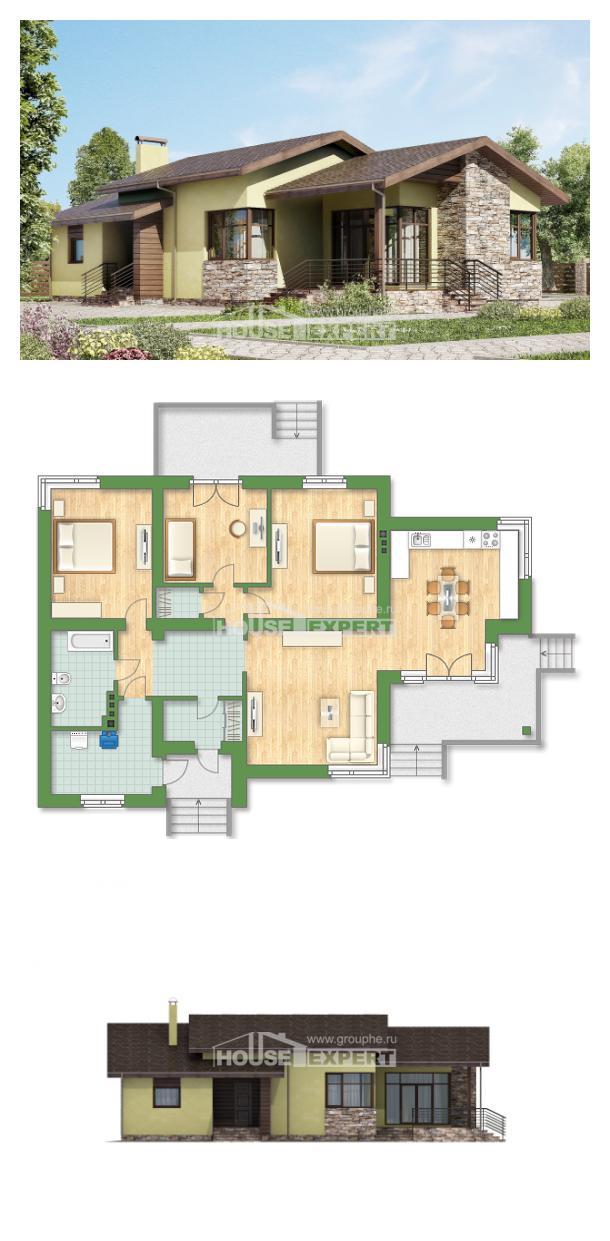 Projekt domu 130-007-L | House Expert