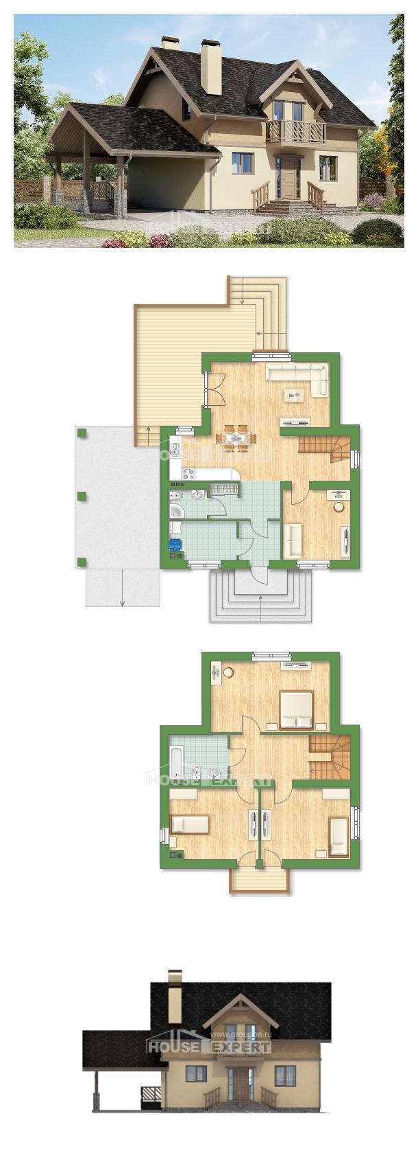 Projekt domu 150-011-L   House Expert