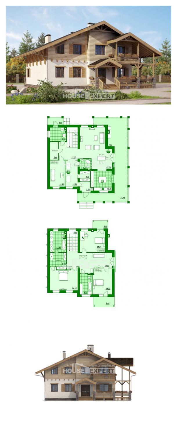 Projekt domu 260-001-L   House Expert