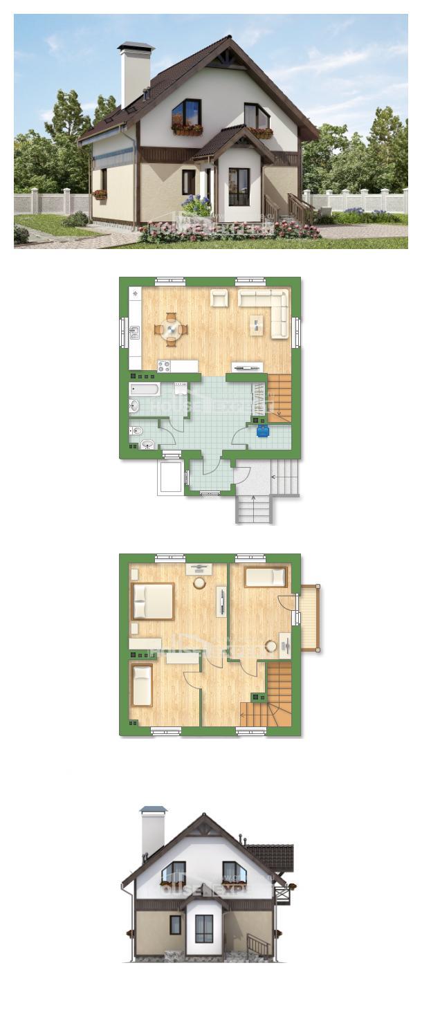 Projekt domu 105-001-R   House Expert