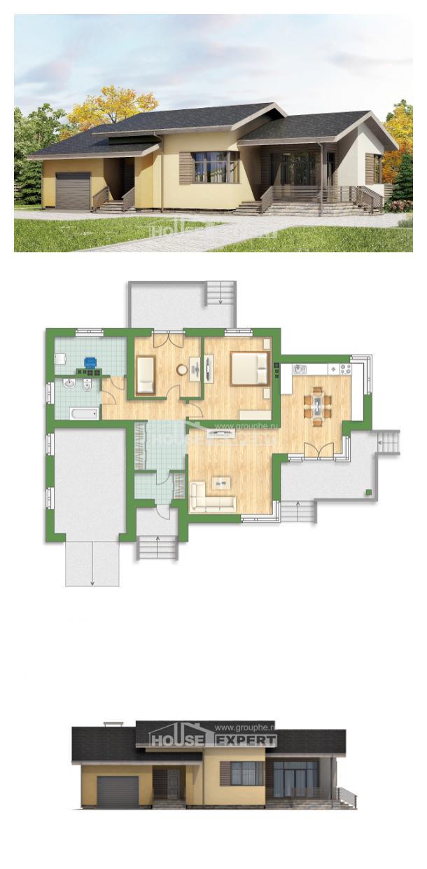 Projekt domu 135-002-L | House Expert