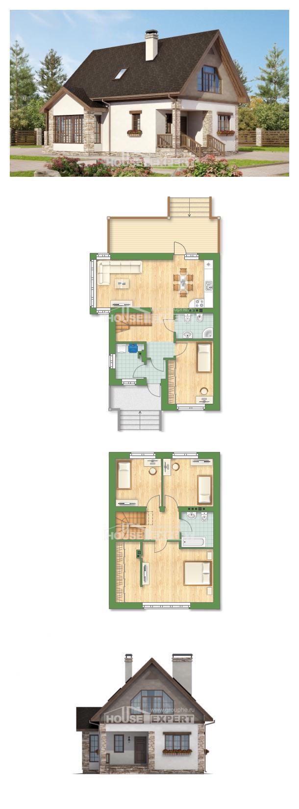 Projekt domu 140-002-L   House Expert