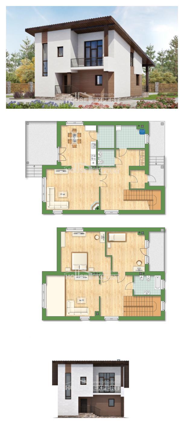 Projekt domu 140-005-R | House Expert