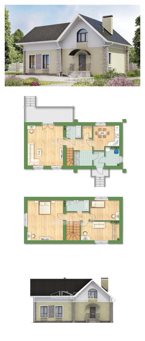 خطة البيت 150-012-R | House Expert