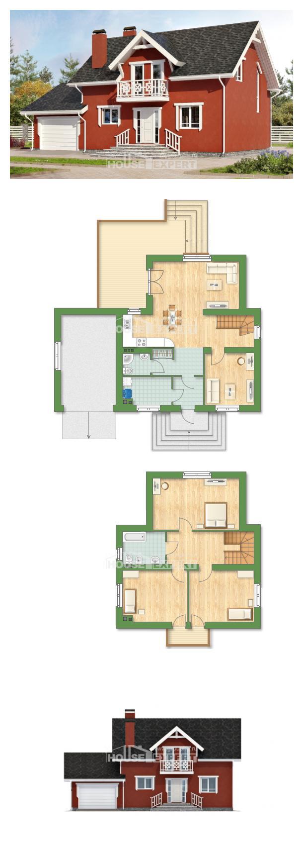 Projekt domu 180-013-L | House Expert