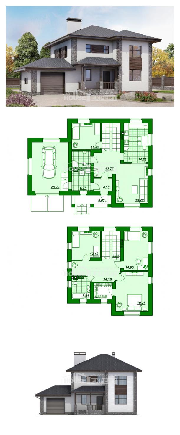 Projekt domu 185-004-L | House Expert