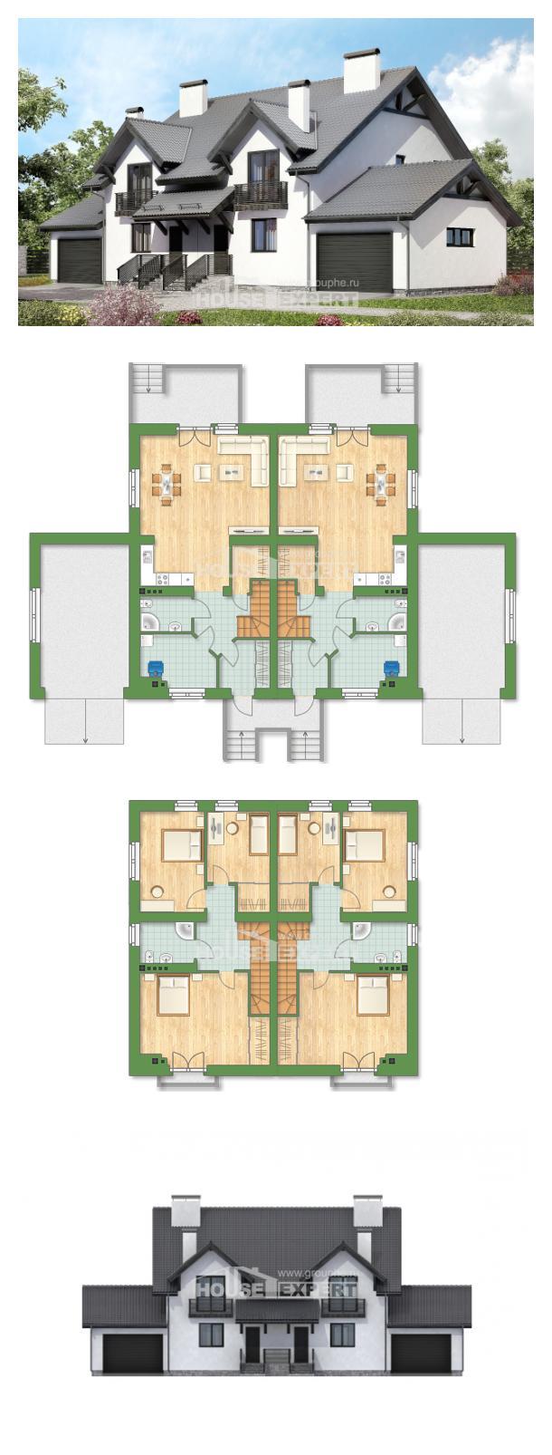 Ev villa projesi 290-003-R | House Expert