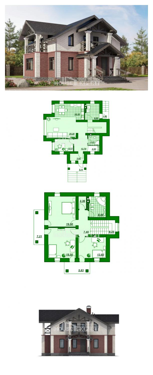 Projekt domu 160-014-L   House Expert