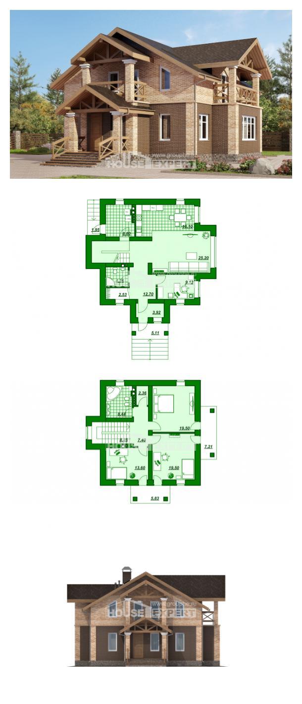 Projekt domu 160-014-R   House Expert