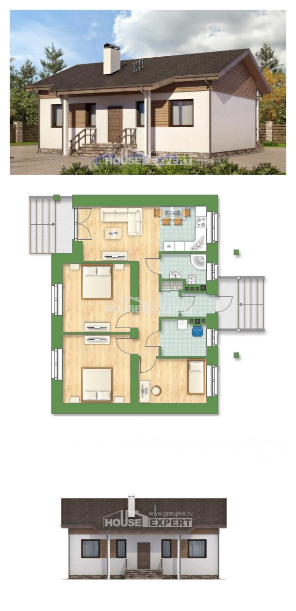 Projekt domu 080-004-L | House Expert