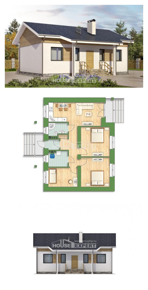 Проект на къща 080-004-R   House Expert