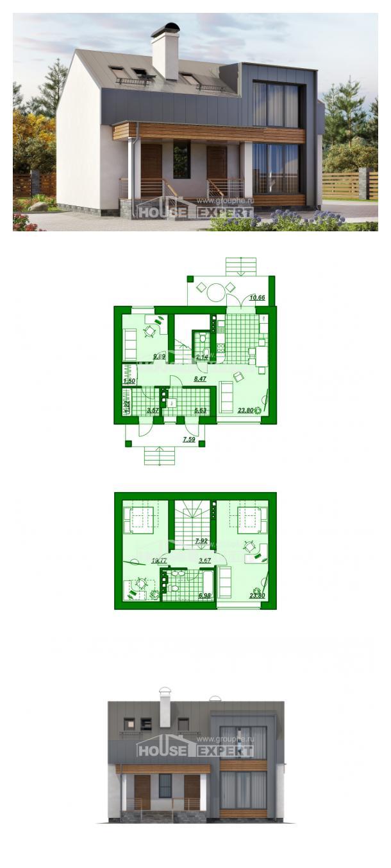 Projekt domu 120-004-R | House Expert