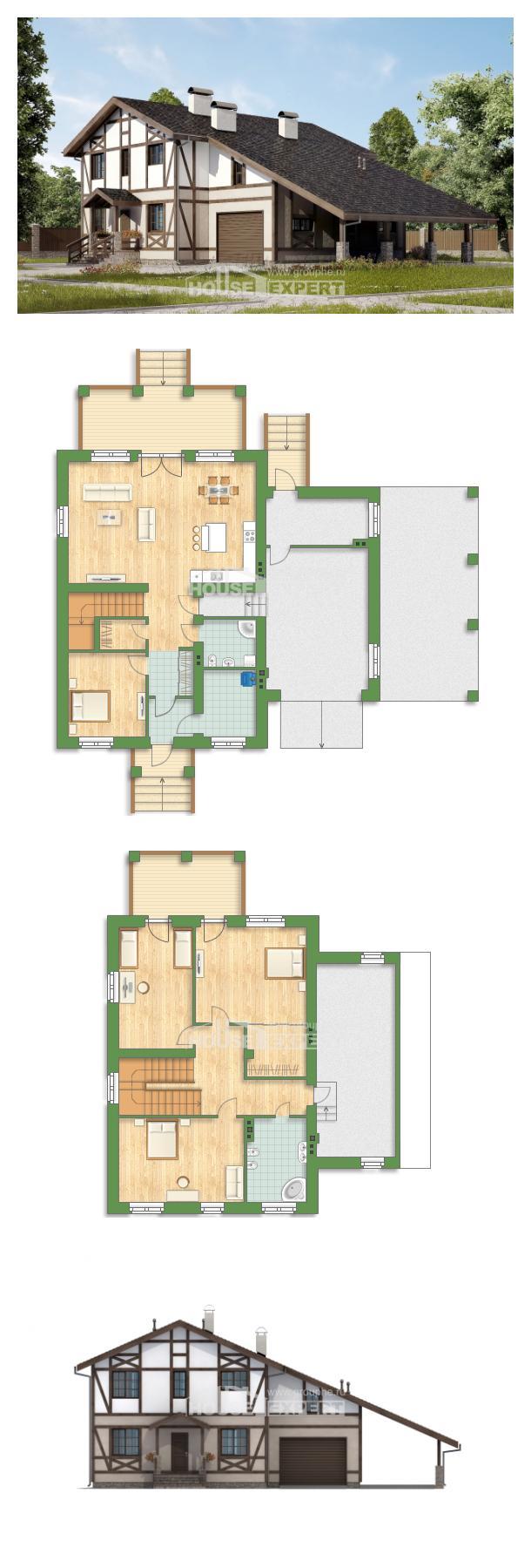 Проект дома 250-002-П | House Expert
