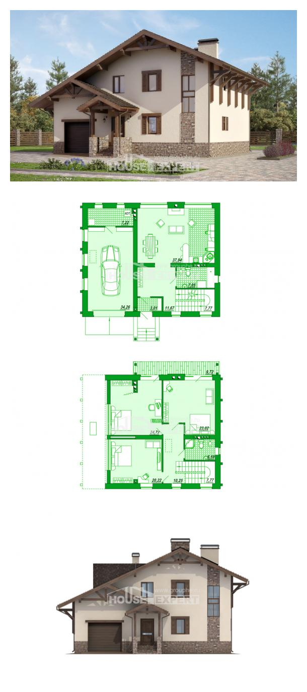 Projekt domu 190-007-L | House Expert