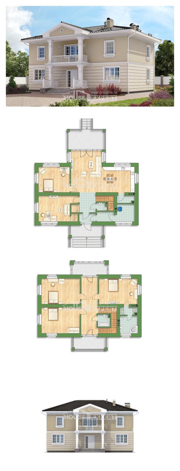 Projekt domu 210-005-L   House Expert