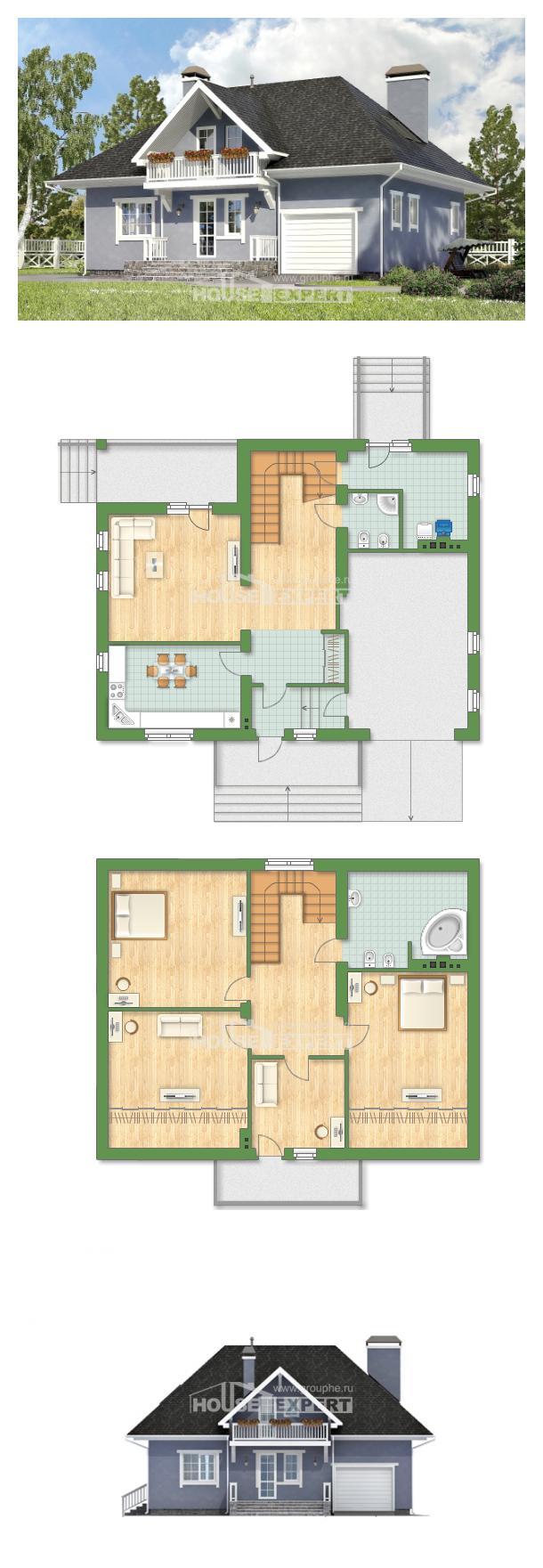 Projekt domu 200-001-R   House Expert