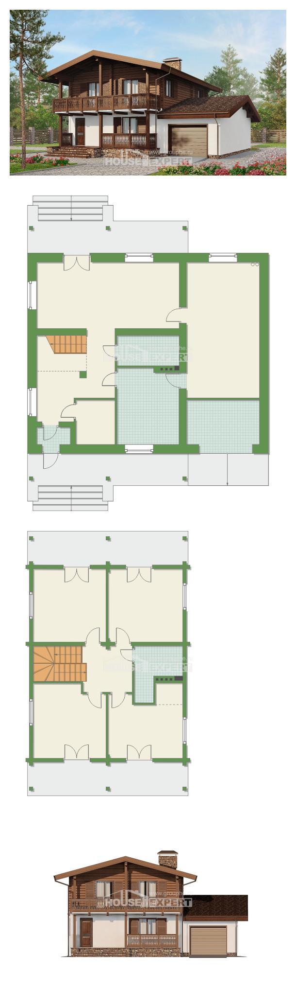 Projekt domu 200-011-R | House Expert