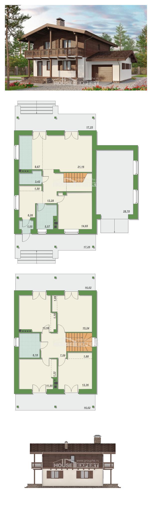 Projekt domu 180-018-L   House Expert