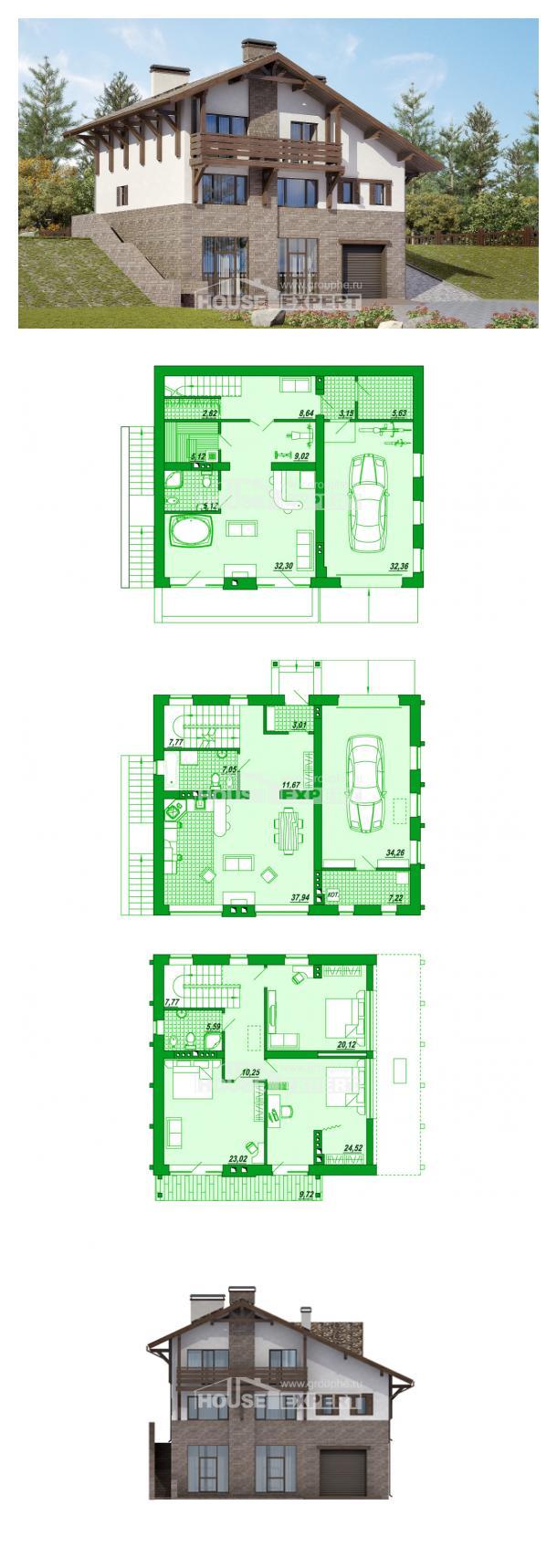 Projekt domu 305-002-R   House Expert