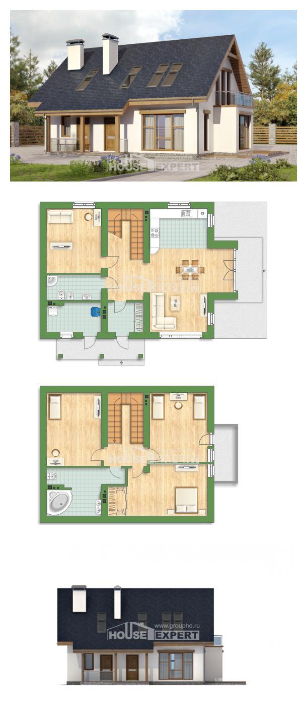 Проект дома 155-012-П | House Expert