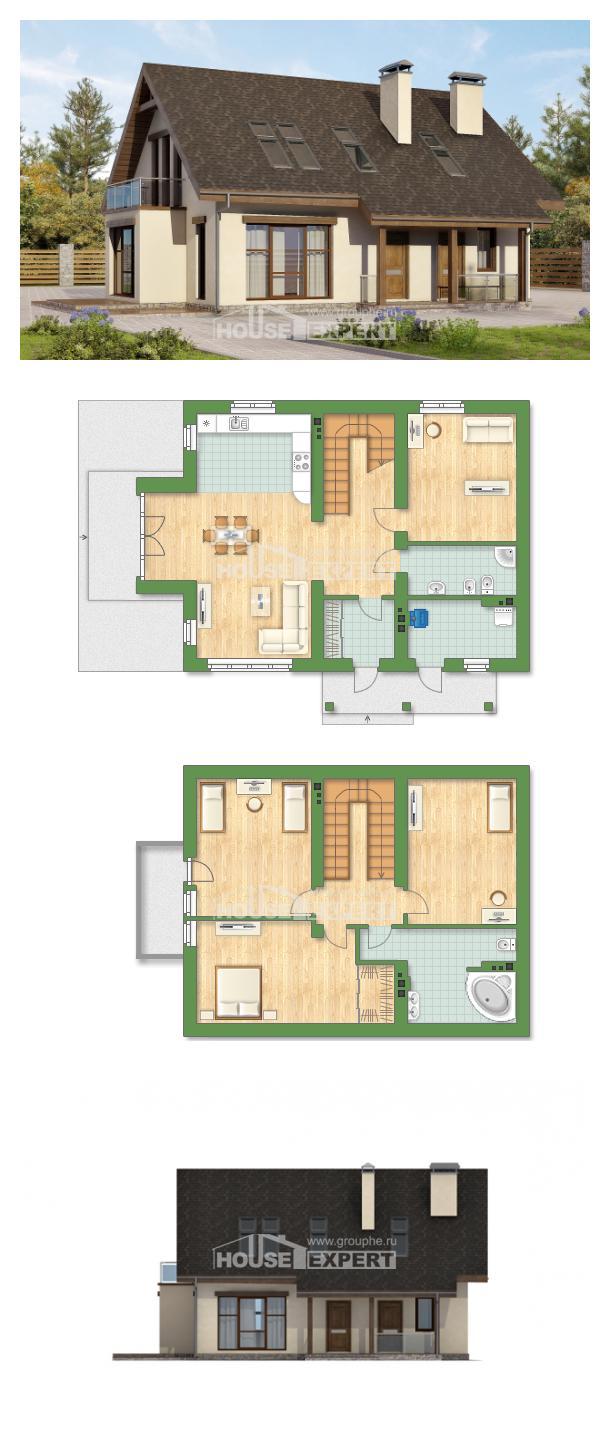 Projekt domu 155-012-L   House Expert