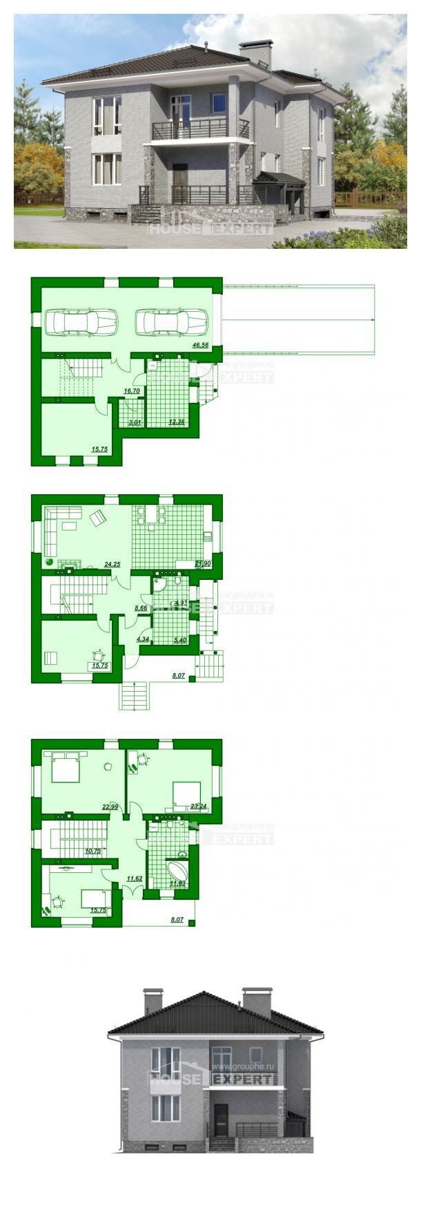 Projekt domu 275-004-R | House Expert