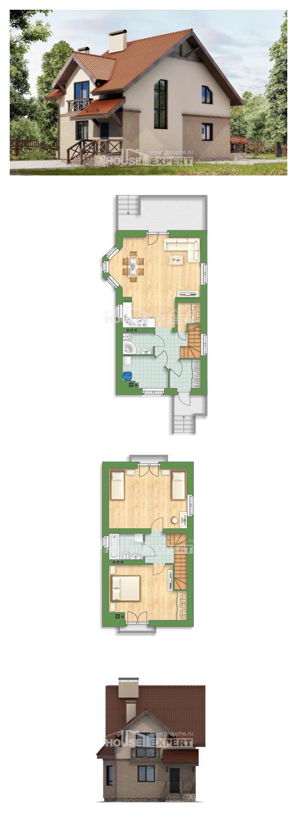 Projekt domu 120-003-L   House Expert