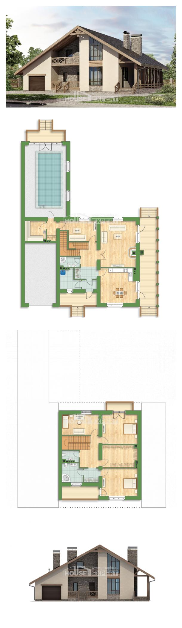 Projekt domu 265-001-L   House Expert