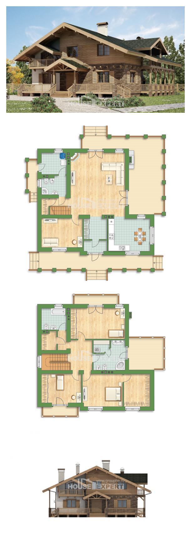 Projekt domu 250-003-L | House Expert
