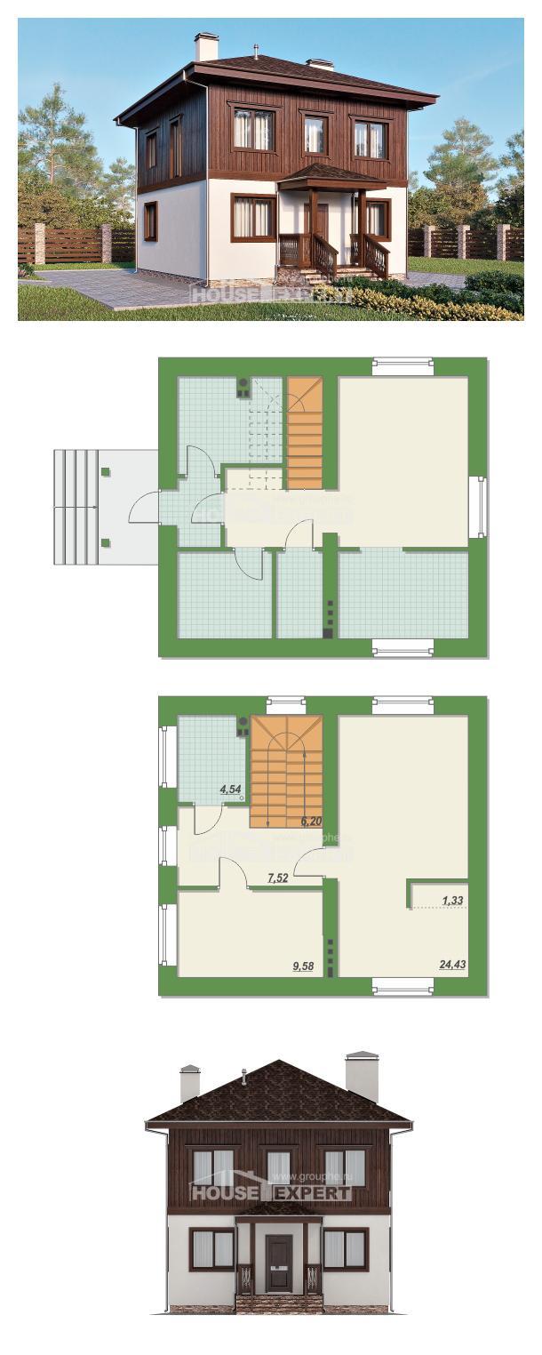 Проект дома 100-006-Л | House Expert