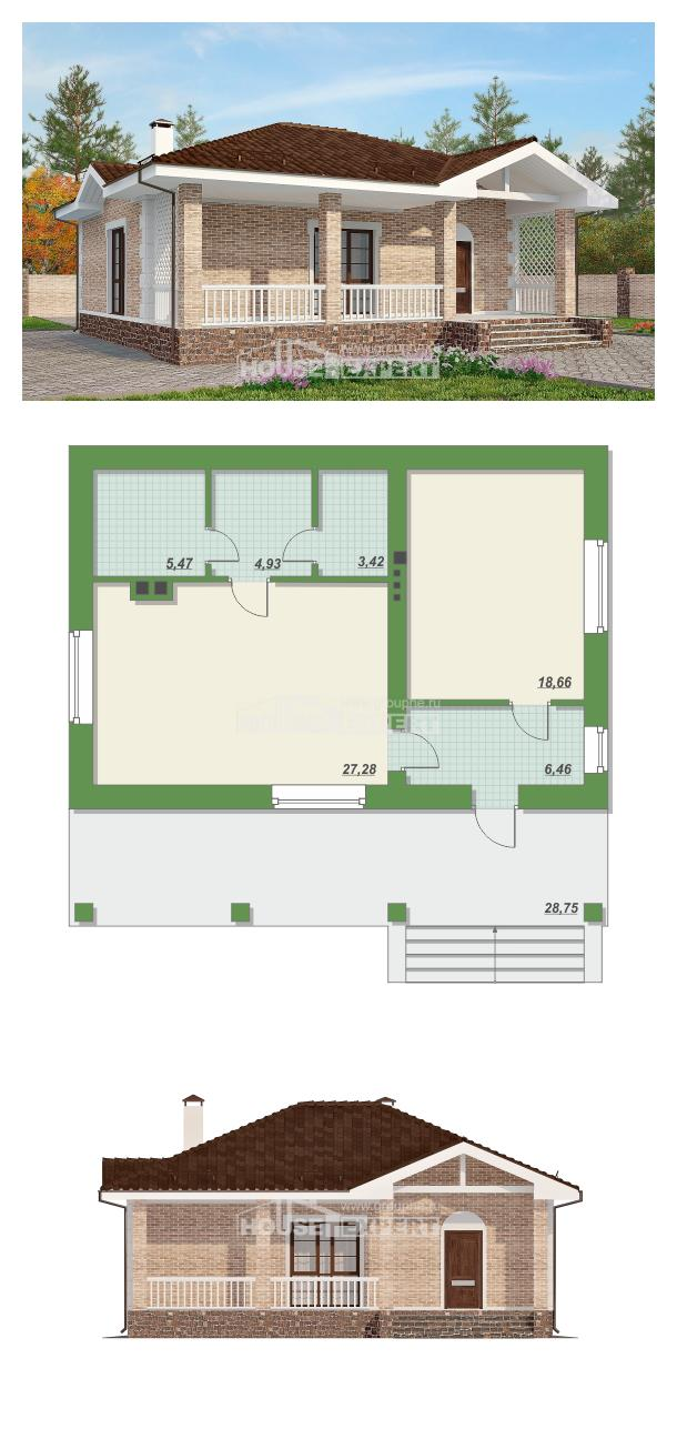 Проект на къща 065-002-R | House Expert
