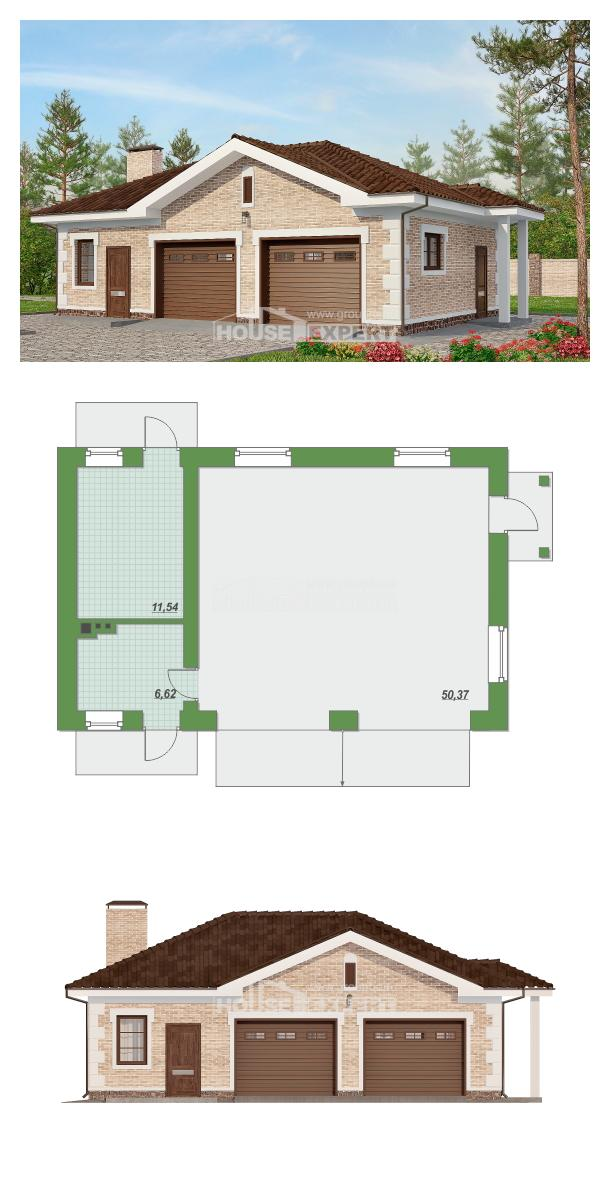 Projekt domu 070-005-R | House Expert