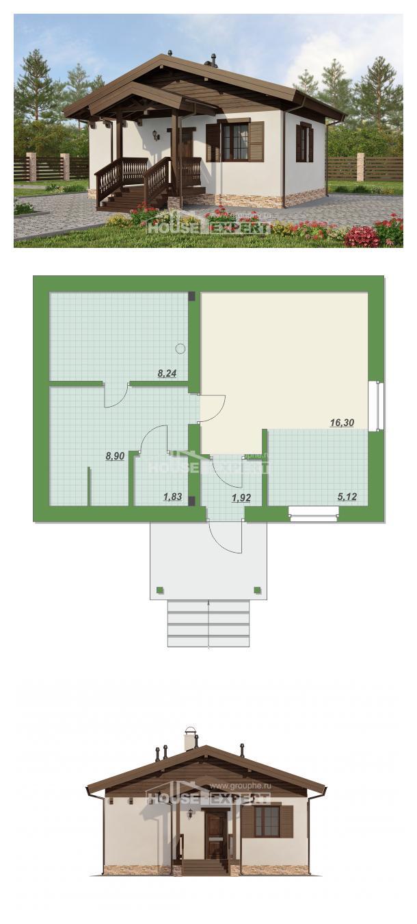 خطة البيت 040-003-R   House Expert