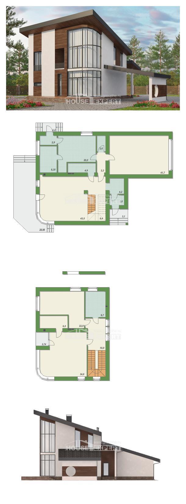 خطة البيت 230-001-R | House Expert