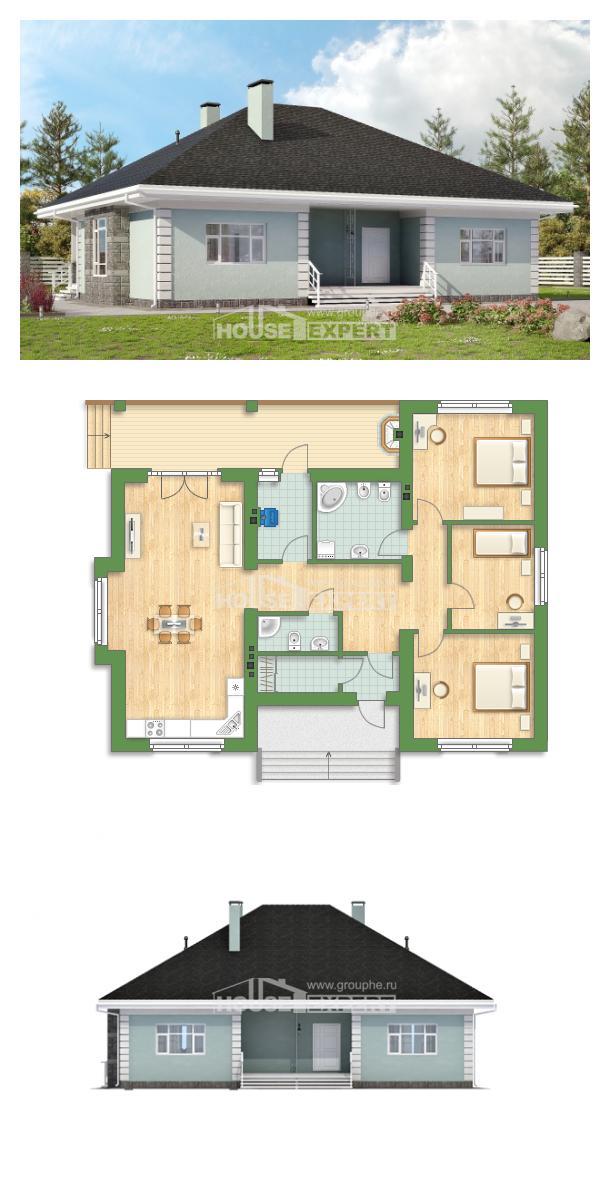 Projekt domu 135-003-L | House Expert