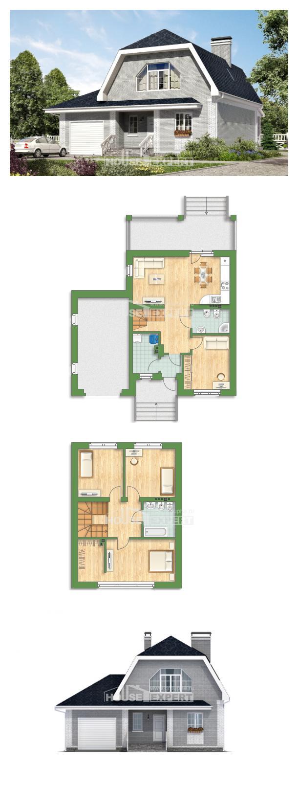 Projekt domu 160-006-L   House Expert