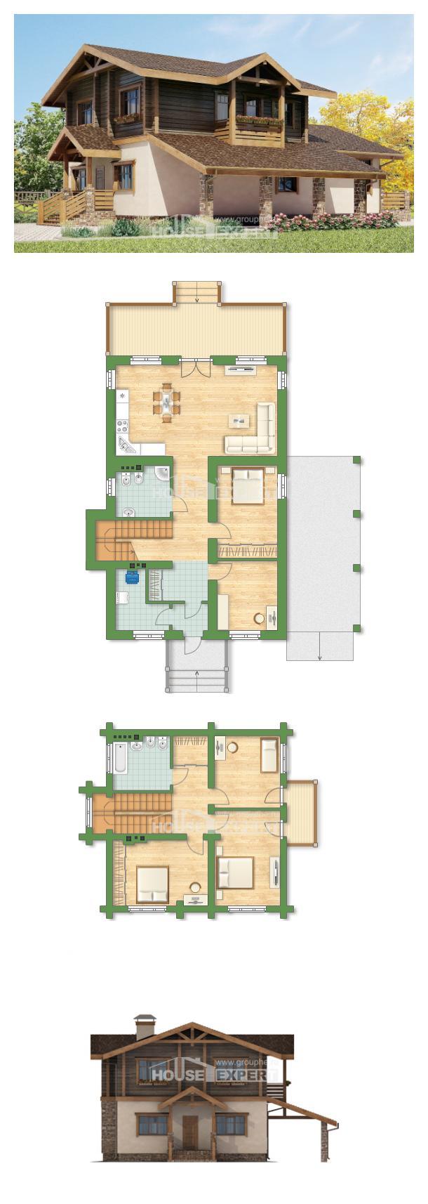 Projekt domu 170-004-R | House Expert