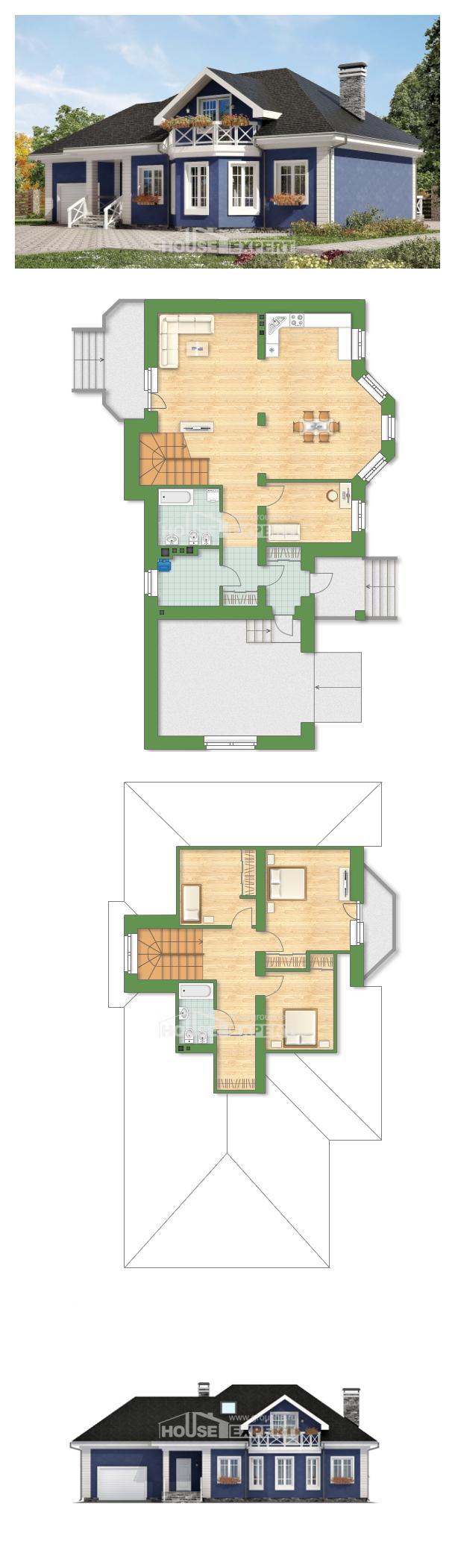 Projekt domu 180-010-L | House Expert