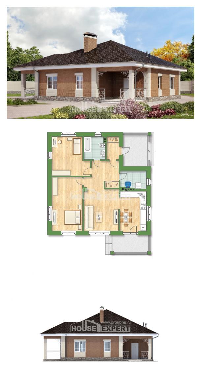 Проект дома 100-004-П | House Expert