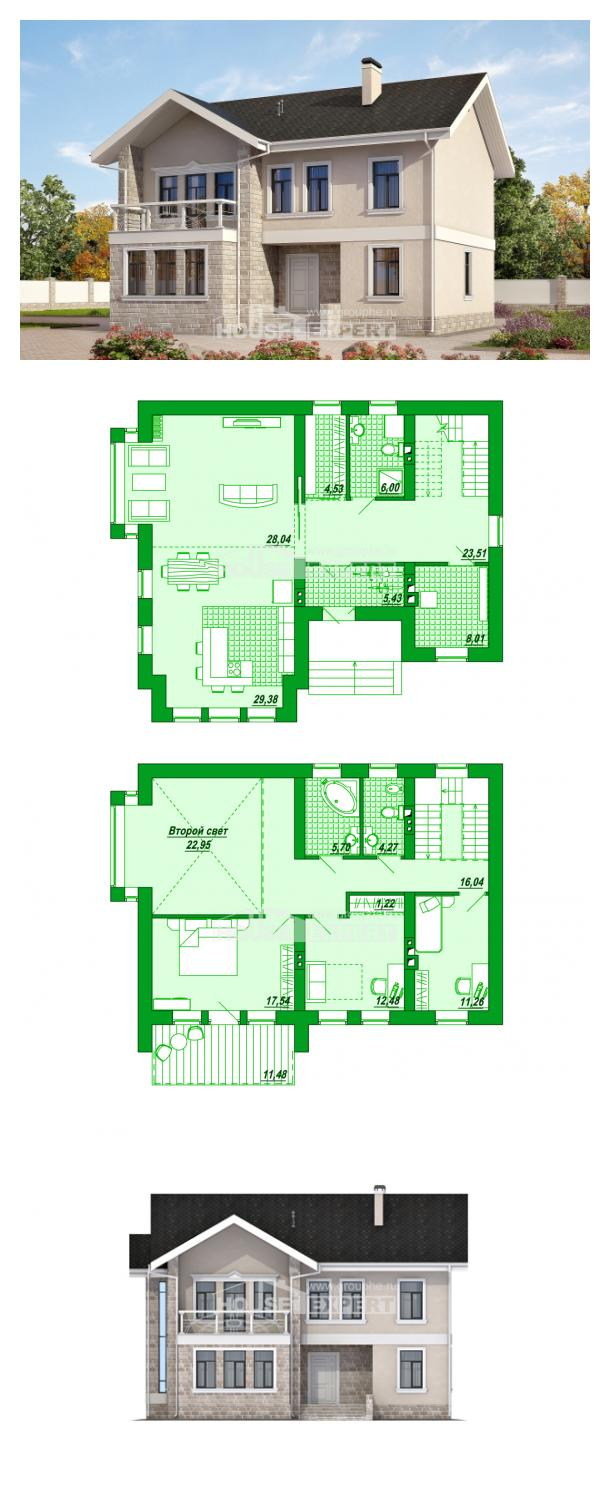 Projekt domu 170-008-L   House Expert