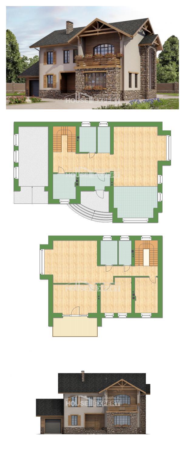 خطة البيت 200-005-L | House Expert