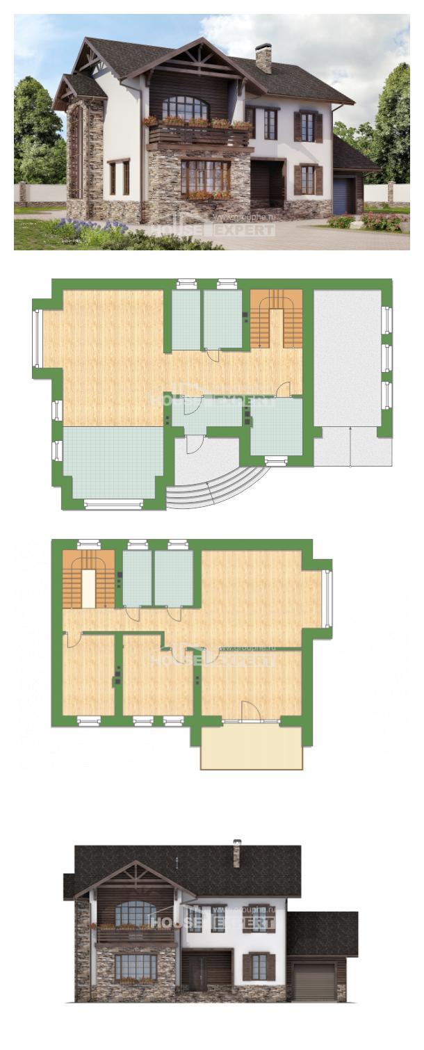 Projekt domu 200-005-R   House Expert