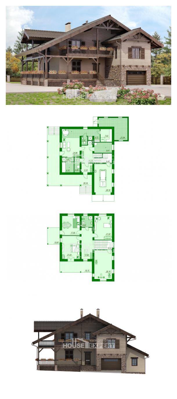 Projekt domu 255-002-R | House Expert