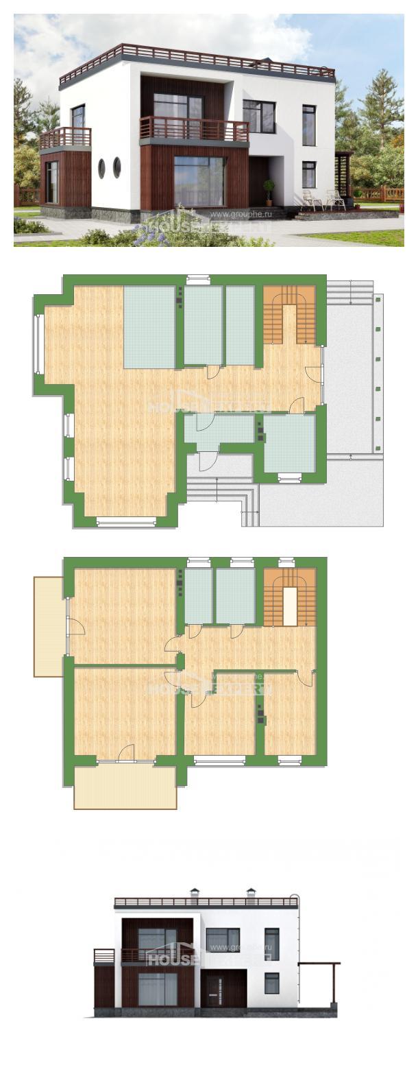 Projekt domu 215-002-R | House Expert