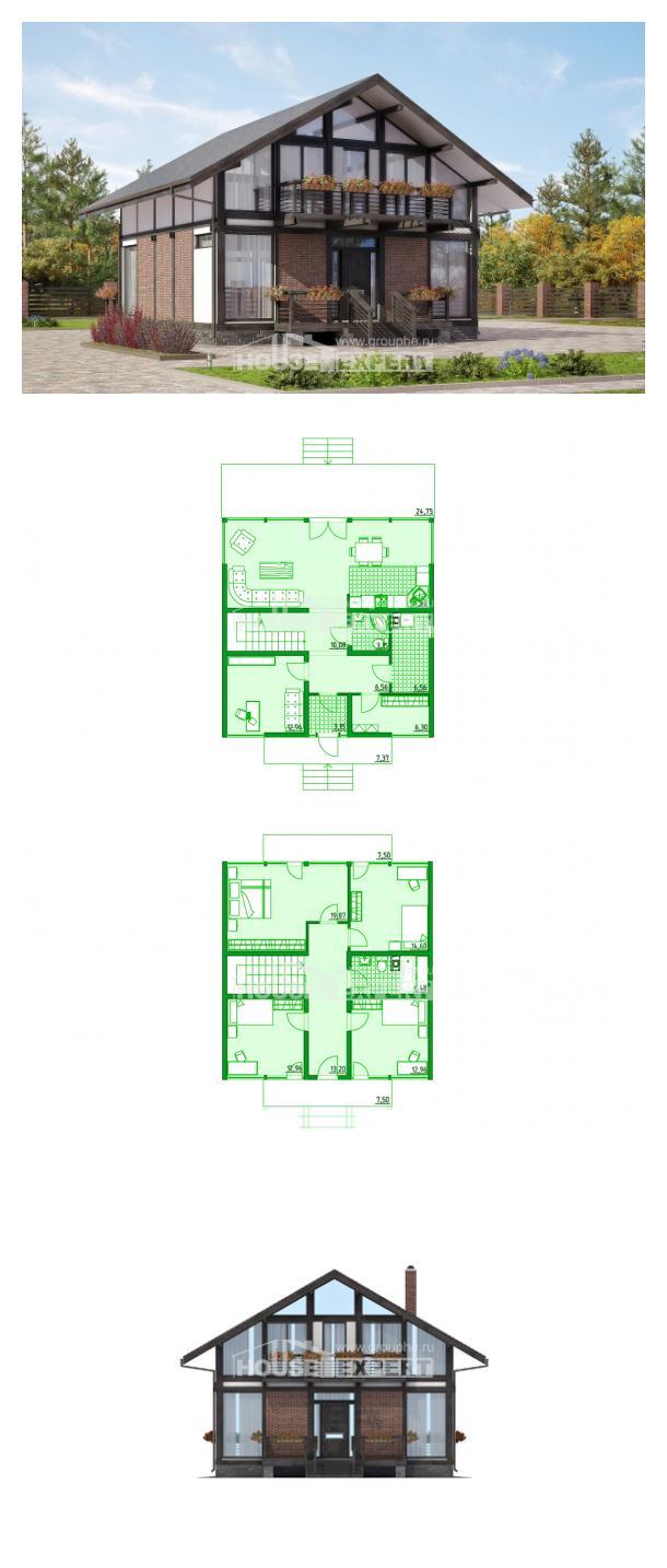 Projekt domu 170-007-R | House Expert