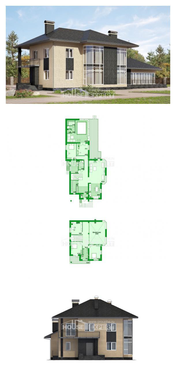 Projekt domu 305-003-L   House Expert